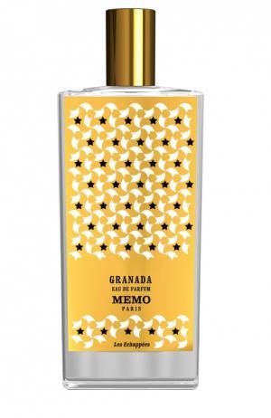 Парфюмерная вода-спрей Granada Memo. Цвет: бесцветный