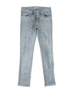 Джинсовые брюки ALLIGALLI. Цвет: серый