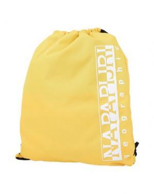 Рюкзаки и сумки на пояс NAPAPIJRI. Цвет: желтый