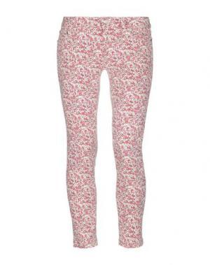 Джинсовые брюки PT Torino. Цвет: кирпично-красный