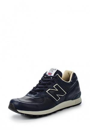 Кроссовки New Balance M576 (UK) LEATHER PACK. Цвет: синий