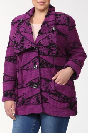 Жакет CHALOU. Цвет: фиолетовый