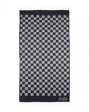 Пляжное полотенце MC2 SAINT BARTH. Цвет: темно-синий