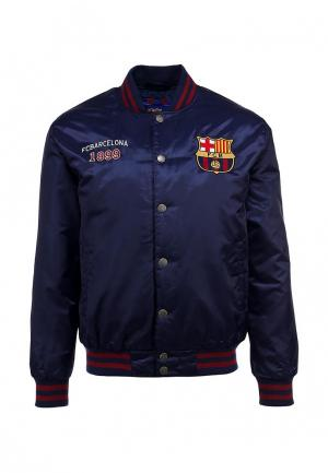 Куртка Atributika & Club™ FC Barcelona. Цвет: синий
