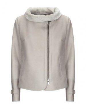 Куртка DACUTE. Цвет: серый