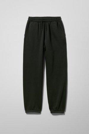 Спортивные штаны Standard Weekday. Цвет: черный
