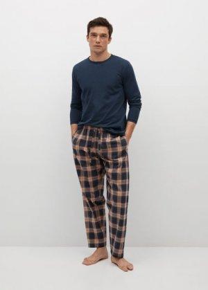 Комплект пижама из хлопка - Marc Mango. Цвет: темно-синий
