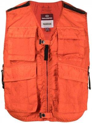 Жилет Pararescue с карманами Parajumpers. Цвет: оранжевый