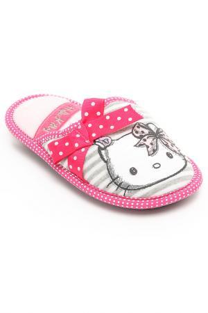 Пантолеты Hello Kitty. Цвет: розовый, серый