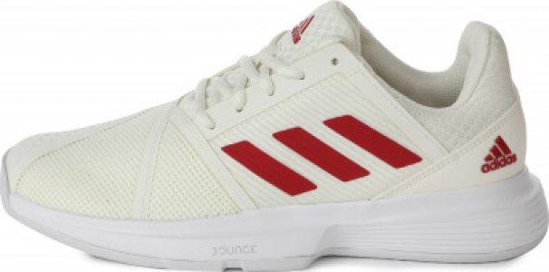 Кроссовки женские для тенниса adidas CourtJam Bounce, размер 38.5. Цвет: красный
