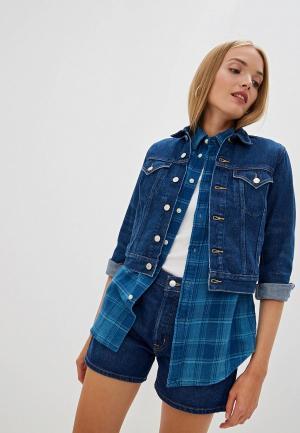 Куртка джинсовая Polo Ralph Lauren DENIM capsule. Цвет: синий
