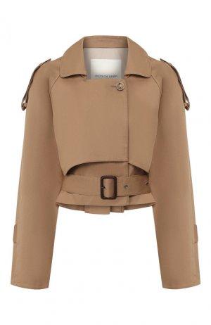 Хлопковая куртка Walk of Shame. Цвет: коричневый