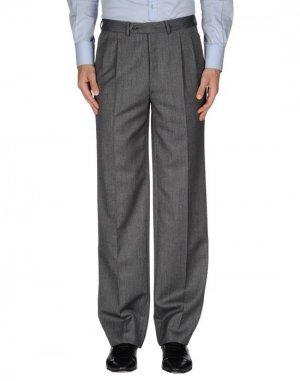 Повседневные брюки HARRISON. Цвет: свинцово-серый