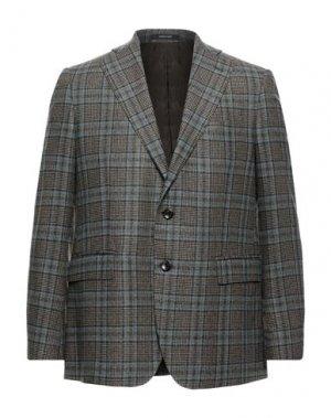 Пиджак ANGELO NARDELLI. Цвет: темно-коричневый