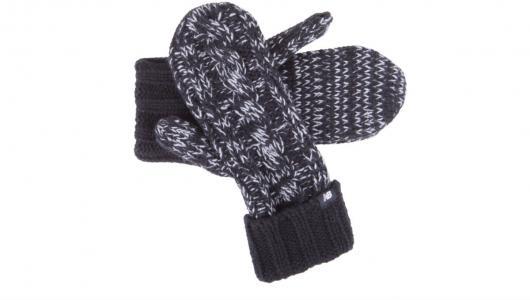 Перчатки, варежки, муфты Winter Mittens New Balance. Цвет: черный