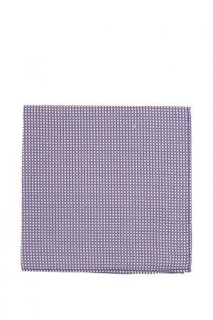 Карманный платок Montego. Цвет: синий, белый, розовый, клетка