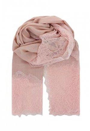 Палантин MAX&MOI. Цвет: розовый