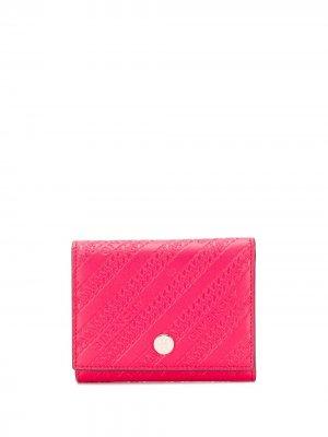 Бумажник с тисненым логотипом Givenchy. Цвет: красный