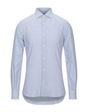 Pубашка HAVANA & CO.. Цвет: небесно-голубой