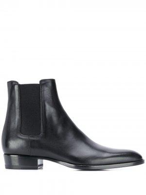 Ботинки челси Saint Laurent. Цвет: черный