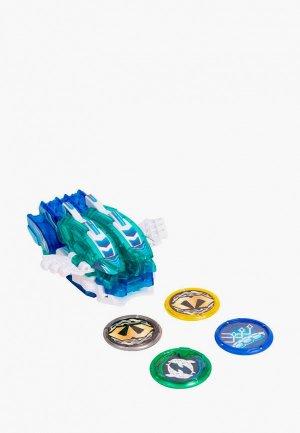 Игрушка Росмэн Дикие Скричеры. Маш-трансформер Соник Фиш S3. ТМ Screechers Wild. Цвет: синий