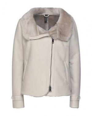 Куртка DACUTE. Цвет: светло-серый