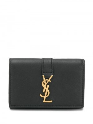 Ключница Monogram Saint Laurent. Цвет: черный