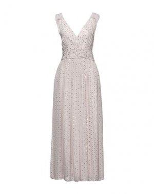 Длинное платье CARACTÈRE. Цвет: светло-серый