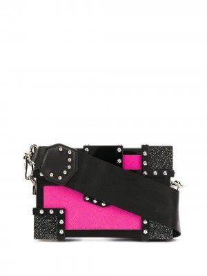 Клатч-косметичка K/Plexi Treasure Karl Lagerfeld. Цвет: черный