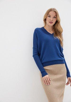 Пуловер MaryTes. Цвет: синий
