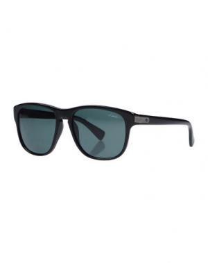 Солнечные очки LANVIN. Цвет: черный