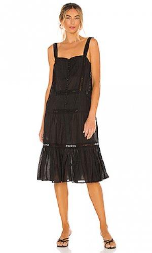 Платье taylie Tularosa. Цвет: черный