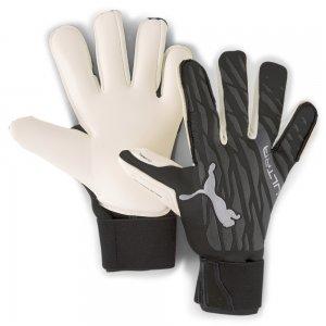 Вратарские перчатки ULTRA Grip 1 Hybrid Pro Goalkeeper Gloves PUMA. Цвет: черный