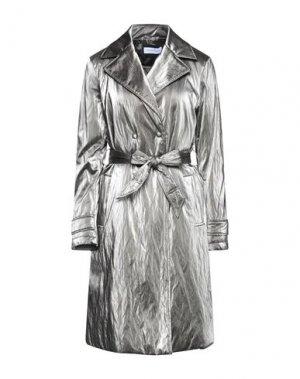 Легкое пальто CARACTÈRE. Цвет: свинцово-серый
