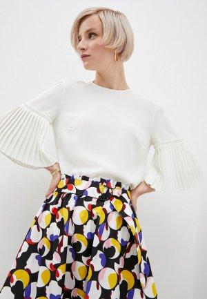Блуза Akris Punto. Цвет: белый