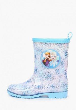 Резиновые сапоги Disney. Цвет: голубой