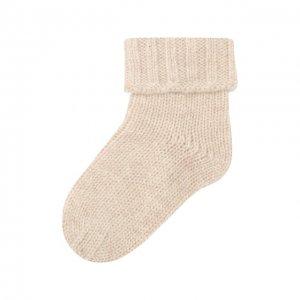 Кашемировые носки Oscar et Valentine. Цвет: бежевый