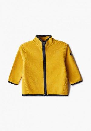 Олимпийка Sela. Цвет: желтый