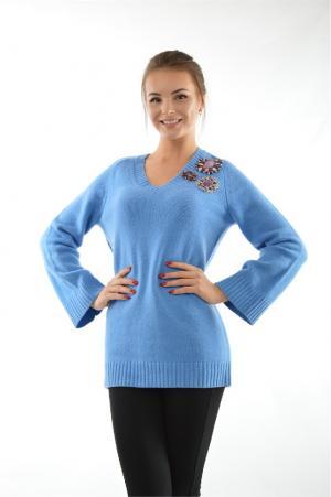 Пуловер Pinko. Цвет: голубой