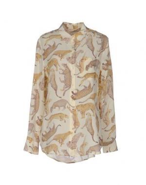 Pубашка EQUIPMENT. Цвет: бежевый