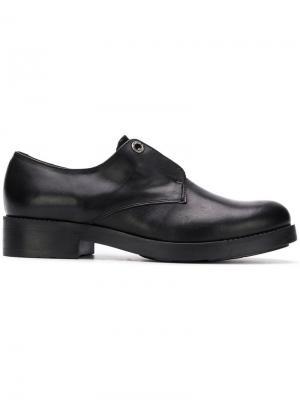 Slip-on oxford shoes Tosca Blu. Цвет: черный