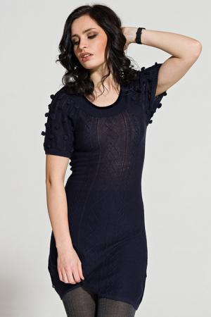 Платье LeMonada. Цвет: синий