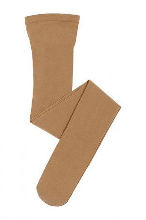Колготки yula. Цвет: коричневый