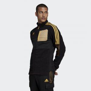 Зимняя олимпийка Tiro Sherpa Sportswear adidas. Цвет: черный