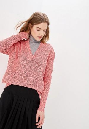 Пуловер Calvin Klein. Цвет: розовый