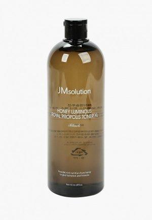Тоник для лица JMsolution Тонер лица, Увлажняющий с экстрактом прополиса XL, 600 мл.. Цвет: белый