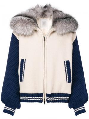 Свободная куртка-бомбер Eleventy