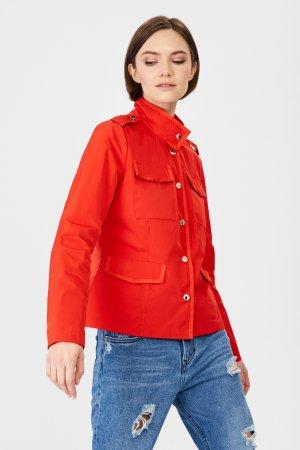 Ветровка baon. Цвет: красный