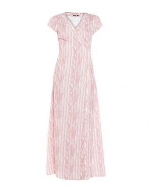Длинное платье DRY LAKE.. Цвет: телесный