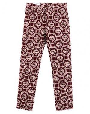 Повседневные брюки CASABLANCA. Цвет: красно-коричневый